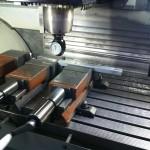 Frezen vlakke laadvloer staanders