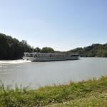 Boot op de Donau