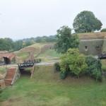 Uitzicht fort Novi Sad