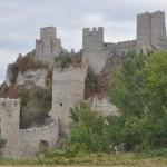 Middeleeuws fort onderweg
