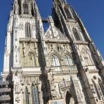 Cathedraal buitenkant Regensburg