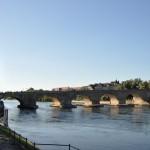 Stenen rivier in Regensburg over de rivier