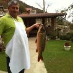 Zo'n vissen vangen ze in de Donau