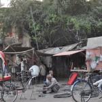 Fietsenmaker in Jaipur