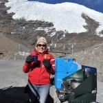 Worstenbroodjes bij de gletsjer!