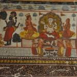 Fresco in Orchha