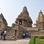 Kamasutra tempels in Khajuro