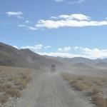 De weg naar het base camp