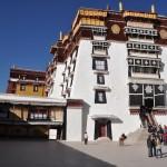 Potala paleis Lhasa (het paleis van de Daila Lama)