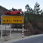 Zo laat China zien waarom je voorzichtig moet rijden ...
