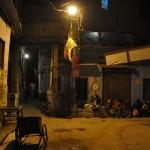 Straten van Varanasi @ night