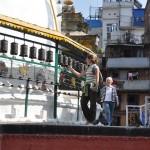 Mantras Kathmandu, altijd met de klok mee draaien