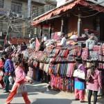 Lokale markt Kathmandu
