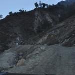 Weg naar de Tibetaanse / Chinese grens vanuit Nepal