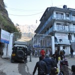Grens Nepal en Tibetaanse / Chinese