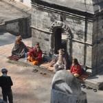 De heiligen in de Tempel