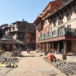 Pottenplein in Bakthapur