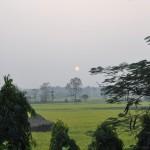Uitzicht in Chitwan