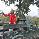 Jeep van de jeep safari