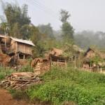 Een lokaal dorpje