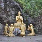 Op de heuvel in Luang Prabang