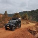 Onderweg van Ponsavan naar Paksan