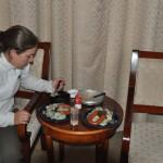 Genoeg van het Chinese eten
