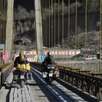 Houtenbrug onderweg