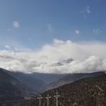 Uitzicht onderweg naar Shangri-la