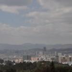 Uitzicht over Kunming