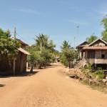 Van kratie naar Kampong Chaam