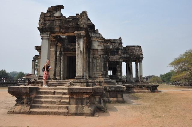 Tempel bij Ankor Wat