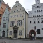 Oudste huisjes van Riga