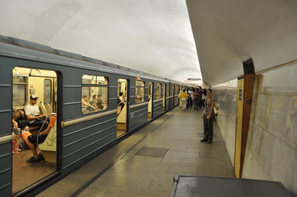 Het metrostation