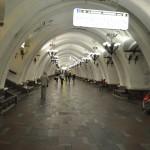 Een van de vele sjieke metrostations