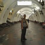 Lijn in de metro