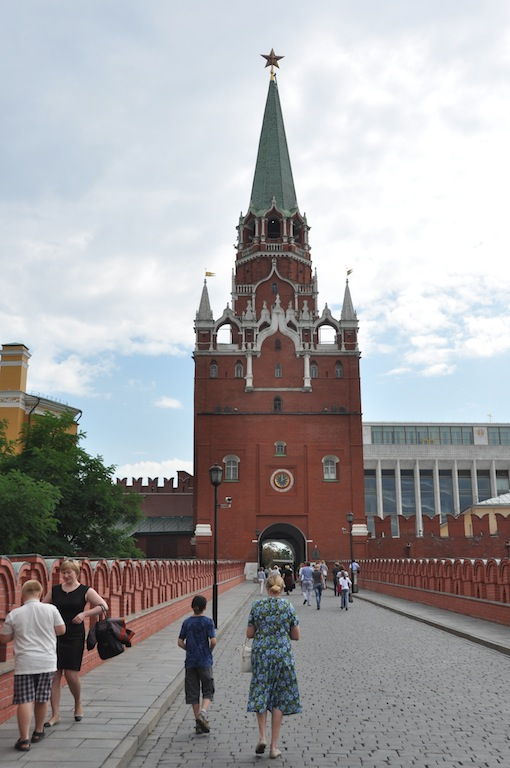 Poort naar het kremlin in Moskou