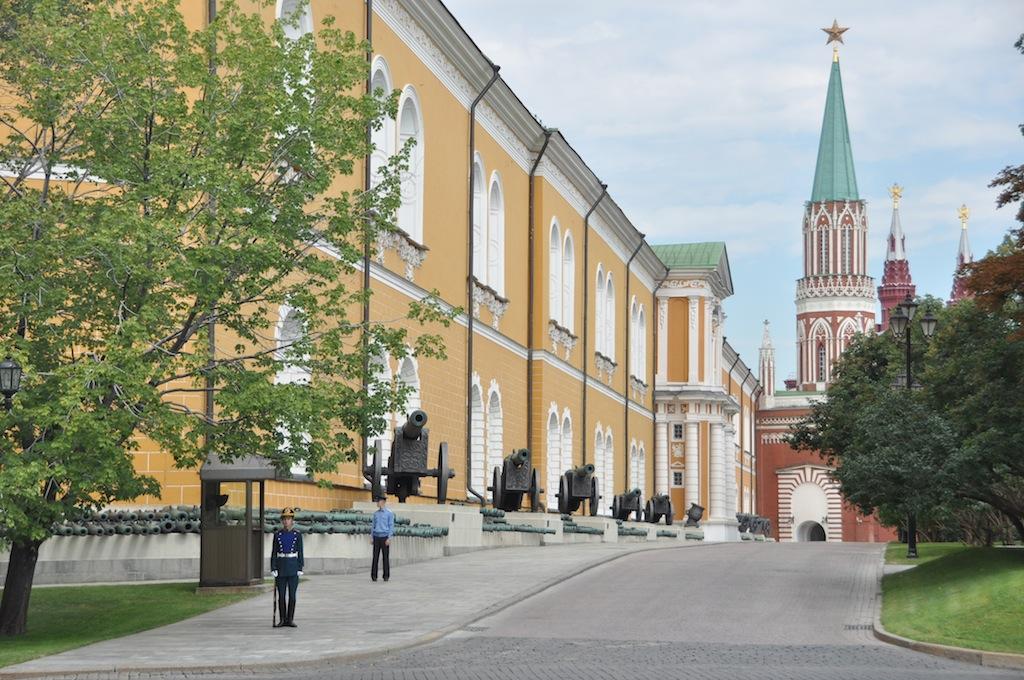 In het kremlin, hier woonde Stalin
