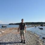 Op het eilandje in Lahemaa NP