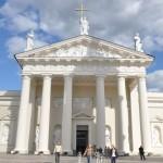 De cathedral van Vilnius
