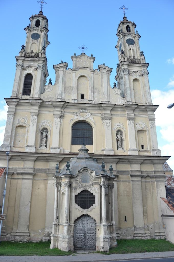 Kerk in Vilnius
