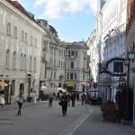 Straatje in Vilnius