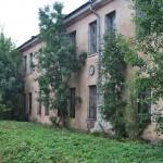Oude gebouwen in Paldiski