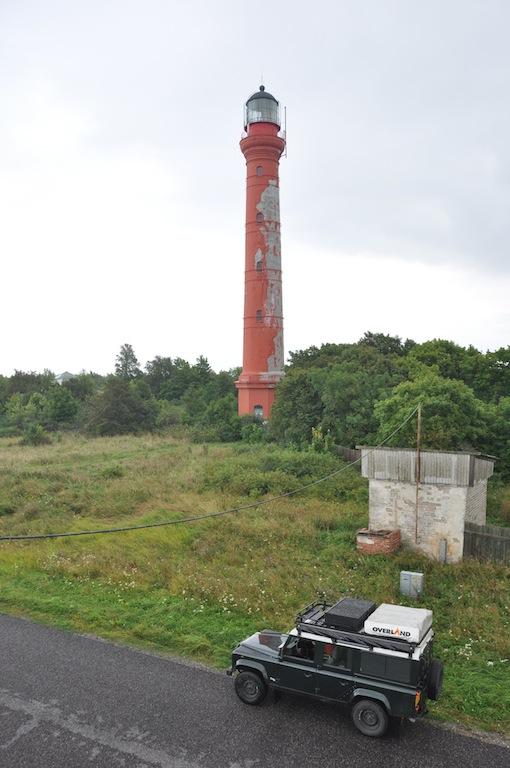 De oude vuurtoren bij Paldiski