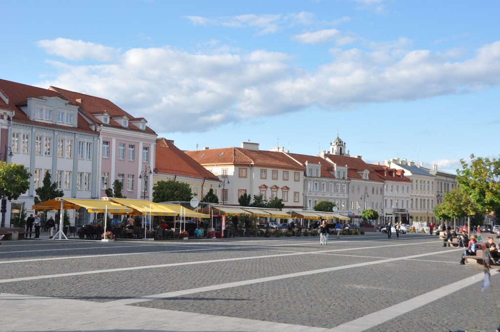 Gebouwen in Vilnius