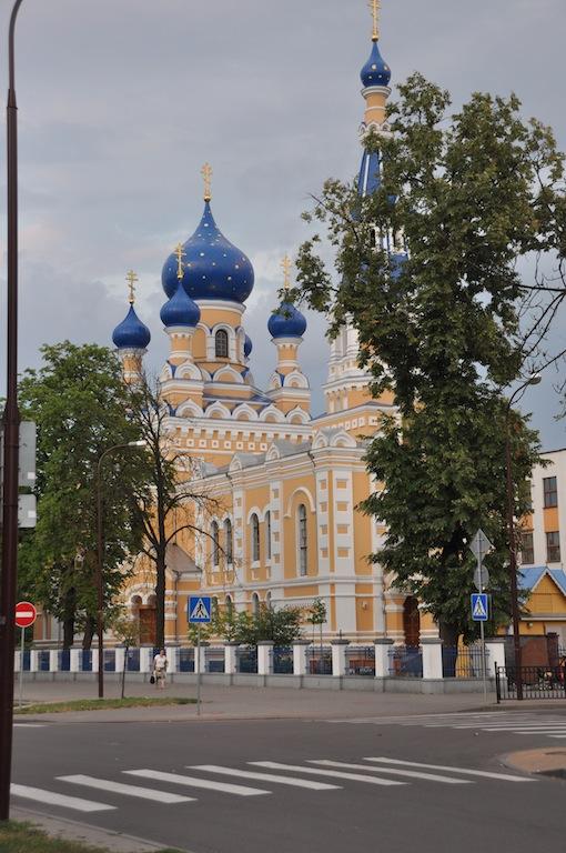 St. Nikolai kerk in Brest, Belarus