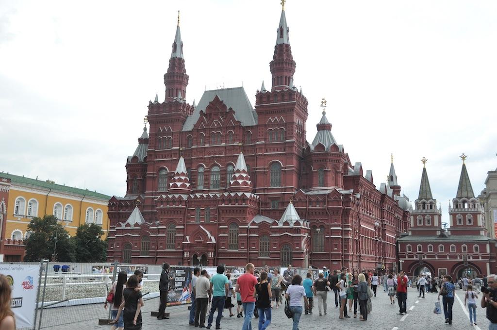 Op het rode plein