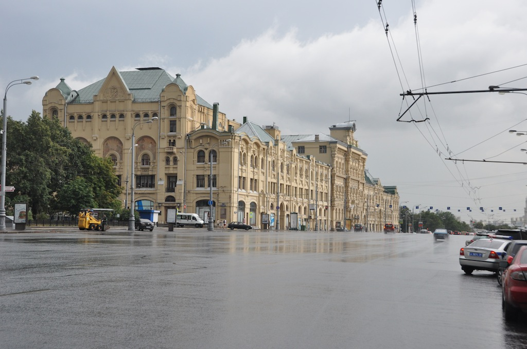 In Moskou