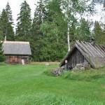 Ingegraven (Zweeds) huisje museum