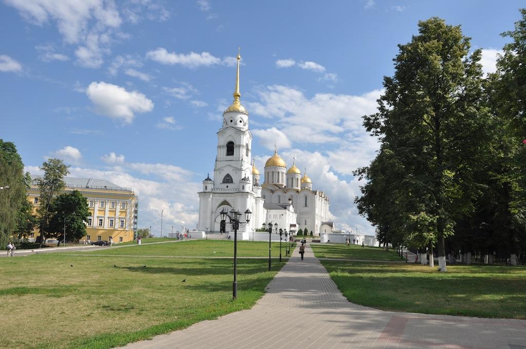 Kerk van Vladimir (Golden ring)